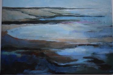 "Minnis Bay acrylic on canvas 16"" x 12"" £180"