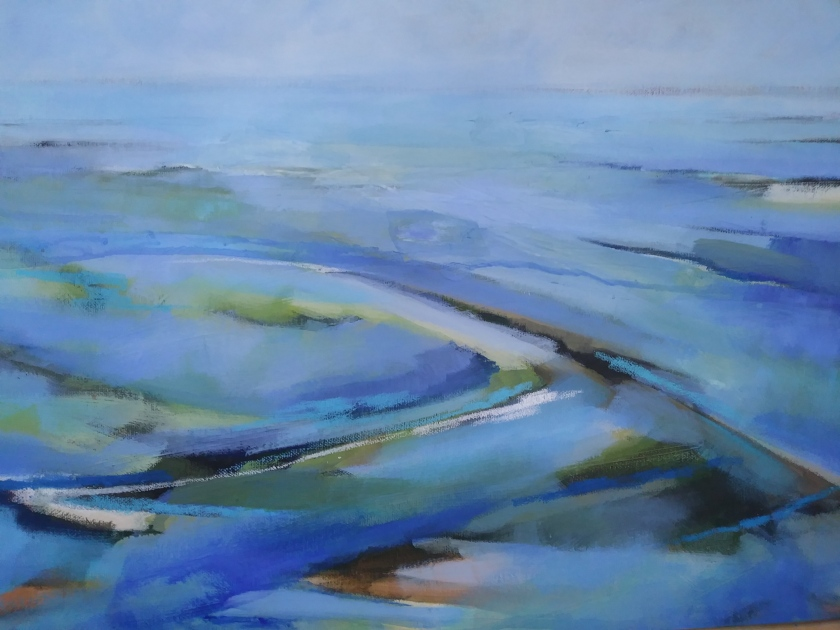 Blue blue sea