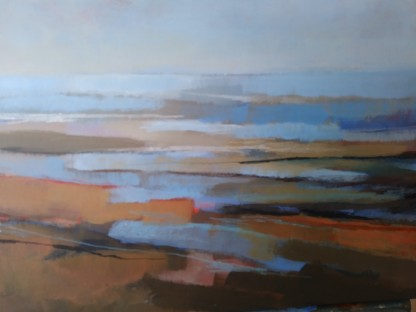 Seascape - acrylic on board. £40
