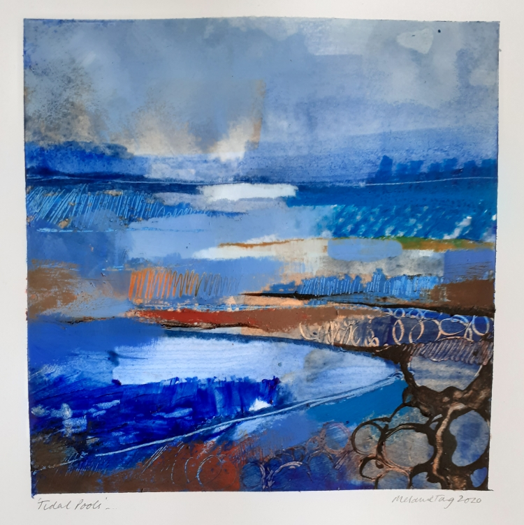 seascape - blues